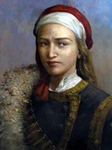 Портрет на Румена войвода (автор: Константин Качев)