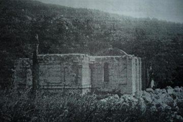 Незавършеният и днес храм.