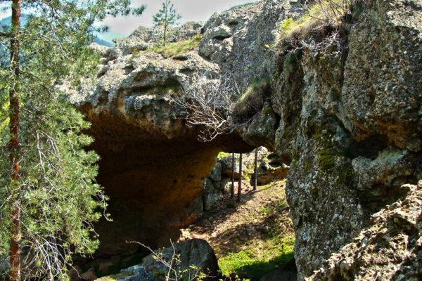 скален мост кушла